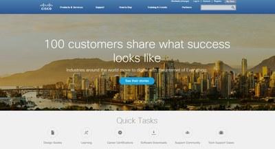Cisco.com with intranet