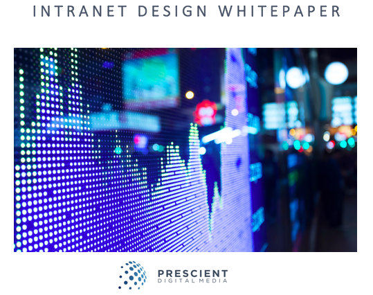 Intranet Design Whitepaper (Intranet Redesign)