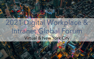 Digital workplace and intranet conference