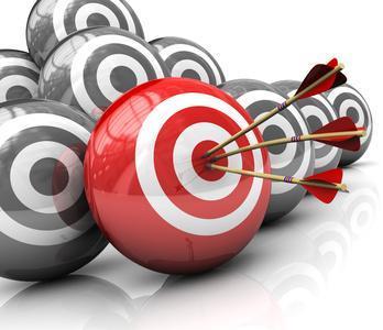 Arrows on target