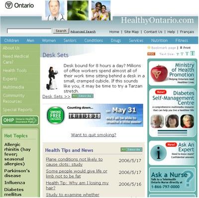 Healthy Ontario 1