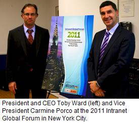 Carmine Porco and Toby Ward