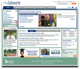 Liberty mutual screen