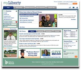 Liberty mutual screen