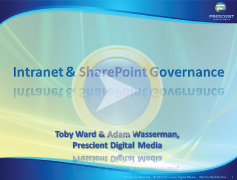 Intranet & SharePoint Governance webinar thumbnail