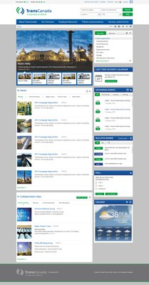 Transcanada Pipelines Intranet Design