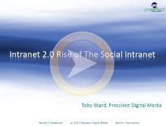 Intranet 2.0 webinar
